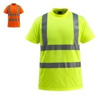 Vorschau: Warnschutz T-shirt Townsville MASCOT®SafeLight rot