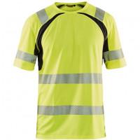 """Vorschau: Warnschutz T-Shirt mit UV-Schutz """"3397"""" - BLAKLÄDER®"""