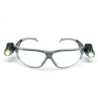 "Vorschau: Schutzbrille ""LIGHT VISION LED"" silber PC klar - 3M®"