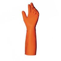 """Vorschau: Tripolymer Reinraum-Handschuhe """"TRIONIC"""" orange - MAPA®"""