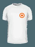 Position der Veredelung bei T-Shirts vorne
