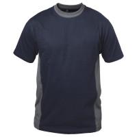 "Vorschau: T-Shirt ""BARCELONA"" 180g/m² - elysee® marine/grau S"