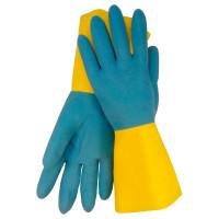"Vorschau: Latex-Chemikalienschutz-Handschuhe ""BI-COLOR"""