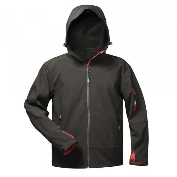 Premium Softshell Jacke elysee® schwarz, 3XL