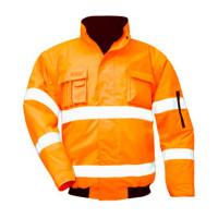 """Vorschau: Warnschutz-Pilotenjacke """"TOM"""" 2-in-1 - safestyle® orange"""