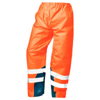 """Vorschau: Warnschutz-Regenbundhose """"MATULA"""" - safestyle® orange/marine"""
