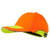 "Vorschau: Warnschutz-Basecap ""ANDREAS"" - elysee® orange/gelb"