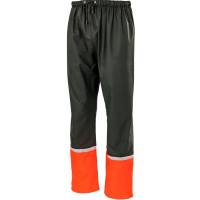 "Vorschau: PU Stretch-Regenhose ""TWISTER"" - albatros® grün/orange"