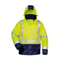 """Vorschau: Warnschutz-Jacke 3in1 """"ALF"""" - safestyle® gelb/marine"""
