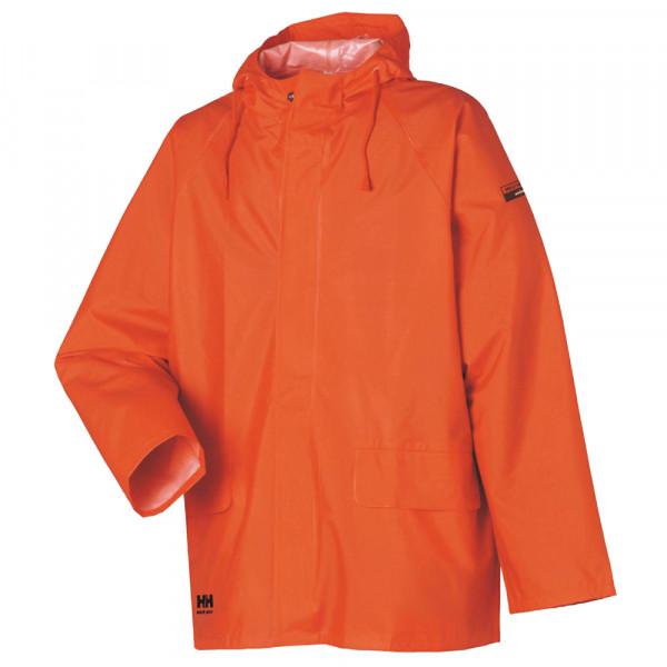 """PVC Regen-Jacke """"MANDAL"""" - Helly Hansen® orange"""