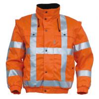 """Vorschau: All-Wetterjacke """"5126"""" HIGH VISIBILITY 225g/m² HAVEP® orange"""