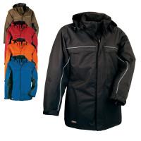 "Vorschau: Winter-Jacke 180g/m² mit Kapuze ""BYLOT"" Winter-Light Cofra®"