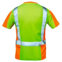 """Vorschau: Warnschutz T-Shirt """"UTRECHT"""" Kl. 2 - elysee® Gelb/Orange 3XL"""