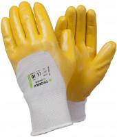 Vorschau: Nitril Polyester-Arbeitshandschuhe TEGERA® 722 - gelb