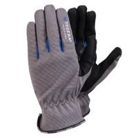 Vorschau: Montagehandschuhe TEGERA® 414 Kunstleder, schwarz/grau/blau