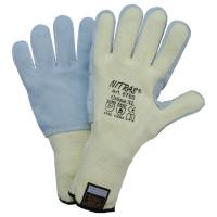 Vorschau: Schnittschutzhandschuhe Lederbesatz NITRAS® TAEKI5