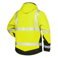 """Vorschau: Warnschutz Winter-Softshell-Jacke """"MELVIN"""" - elysee® gelb"""