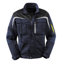 "Vorschau: Workwear Bundjacke ""Arkansas"" - 4PROTECT® navy/grau"