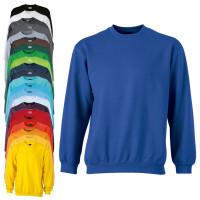 Vorschau: Rundhals Sweatshirt Heavy - James & Nicholson®