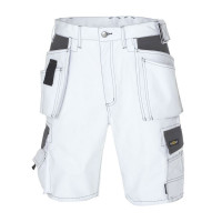 "Vorschau: Canvas Shorts ""BERMUDA"" 270 g/m² - teXXor® weiß/grau"