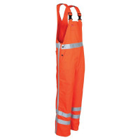"Vorschau: Latzhose ""2484"" HIGH VISIBILITY 300g/m² - HAVEP® orange"