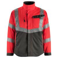 Vorschau: Warnschutz Jacke Oxford MASCOT®SafeSupreme rot/anthrazit