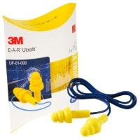 "Vorschau: Stöpsel-Gehörschutz ""ULTRAFIT"" Kordel - EAR® (Kissenpackung)"
