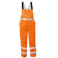 "Vorschau: Warnschutz-Latzhose ""KURT"" - SAFESTYLE® orange"