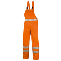 "Vorschau: Warnschutz-Latzhose 270g/m² ""4304"" - teXXor® orange"