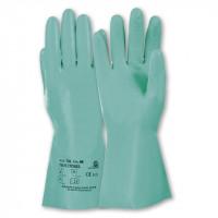 """Vorschau: Nitril Chemiekalienhandschuhe """"TRICOTRIL® 736"""" grün - KCL®"""