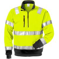 """Vorschau: Warnschutz Zip-Sweatshirt """"728 SHV"""" - FRISTADS®"""
