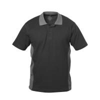 "Vorschau: Poloshirt ""SEVILLA"" 220g/m² - elysee® schwarz/grau"