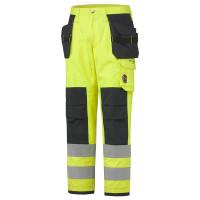 """Vorschau: Multinorm-Handwerkerhose """"ABERDEEN"""" Klasse 2 - Helly Hansen® gelb"""
