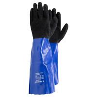 Vorschau: PVC Chemikalien-Schutzhandschuhe TEGERA® 12945 blau/schwarz