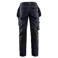 """Vorschau: Damen Jeans Handwerkerhose """"7990"""" X1900 - BLAKLÄDER® marine/schwarz"""