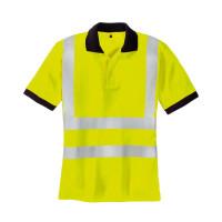 "Vorschau: Warnschutz Poloshirt ""SYLT"" - teXXor® gelb 3XL"