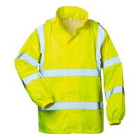 """Vorschau: Warnschutz-Regenjacke """"ONNO"""" mit Kapuze - safestyle® gelb"""