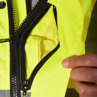 """Vorschau: Warnschutz-Pilotenjacke """"WHISTLER"""" teXXor® leuchtgelb"""