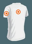 Position der Veredelung bei T-Shirts hinten