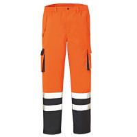 """Vorschau: Warnschutz Regenhose """"BALTIMORE"""" - 4PROTECT® orange/marine"""