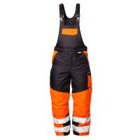 """Vorschau: Warnschutz-Latzhose """"FLORIAN"""" - elysee® orange/marine"""
