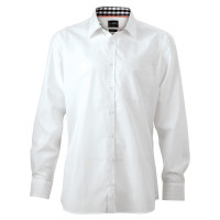 "Vorschau: Herren Plain Hemd ""JN619"" - James & Nicholson®"
