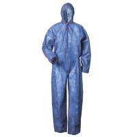 Vorschau: Basic PP-Einwegoverall 40g/m² - blau