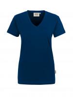 """Vorschau: Damen T-Shirt """"Classic"""" V-Ausschnitt - HAKRO®"""