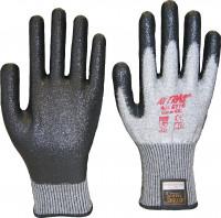"Vorschau: Nitril-Schnittschutzhandschuhe ""6710"" NITRAS TAEKI5® grau"