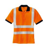 "Vorschau: Warnschutz Poloshirt ""SYLT"" - teXXor® orange 3XL"