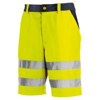 """Vorschau: Warnschutz Shorts """"ERIE"""" - teXXor® gelb/marine"""