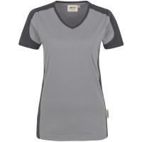 "Vorschau: Damen V-Shirt ""CONTRAST PERFORMANCE"" - HAKRO®"