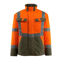 Vorschau: Warn-Pilotjacke Penrith MASCOT® Safe Light rot/anthrazit