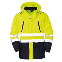 """Vorschau: Warn- & Wetterschutzjacke """"DETROIT"""" - 4PROTECT® gelb/blau"""